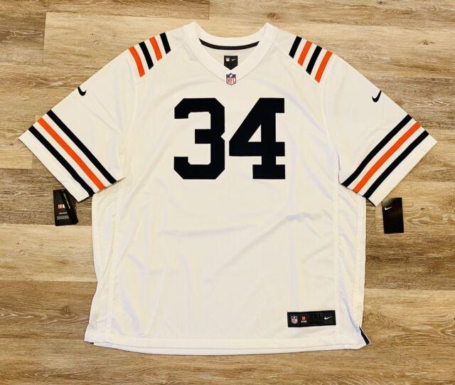 Nike NFL Jersey Chicago Bears Walter Payton Men's Size 3xl Authentic White