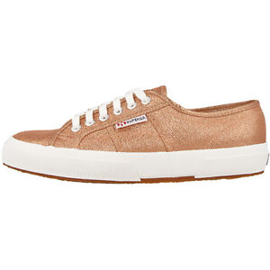 Superga 2750 LAMEW Scarpe Women ROSE ORO s001820916 tempo libero Fashion Sneaker