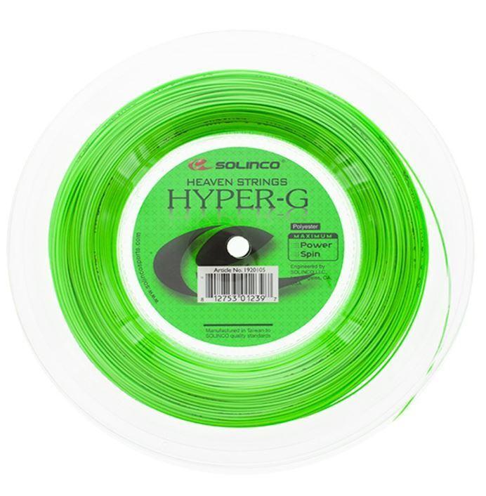 ( m) Solinco Hyper-G 1,30 mm 200 m Tennissaiten Tennis Strings