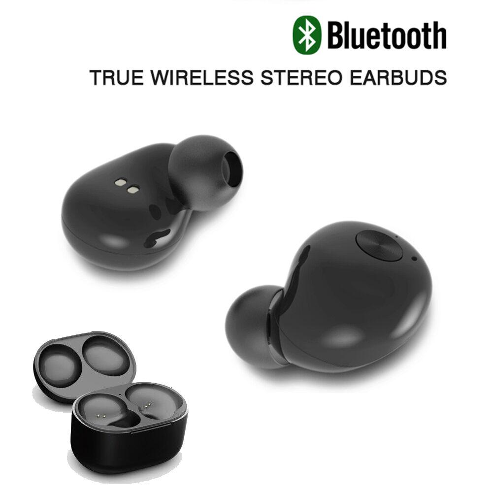 headset bluetooth true wireless stereo earbuds earphone hifi in ear headphone ebay. Black Bedroom Furniture Sets. Home Design Ideas