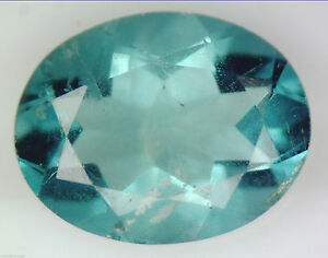1.98 CT 100% NATURAL GREEN FLUORITE OVAL FACETED CUT GEMSTONE 7X 9 MM