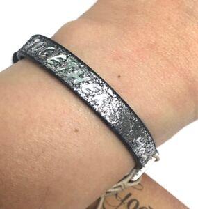 Details About Defective Good Works Stardust Black Adjule Single Bracelet