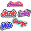 PERSONALISED-NAME-PATCH-EMBROIDERED-IRON-ON-SEW-ON-TAG-BIKER-HAT-3-5-034-SCHOOL thumbnail 1