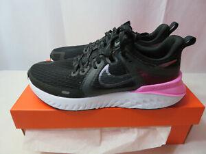 Women's Nike Legend React 2 Running Shoes Black/Pyschic AT1369 004 Size 9.5