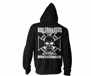 Boilermakers Shirt Boilermaker Hoodie Cross alle Brotherhood Union maten Zwart w67pUqwx