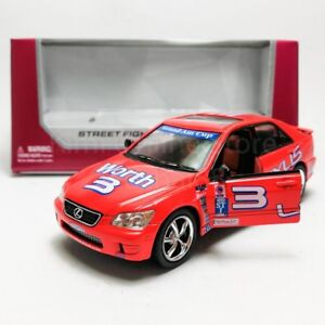 Kinsmart-1-36-Die-cast-Lexus-IS300-Car-Street-Fighter-Model-with-Box-Collection