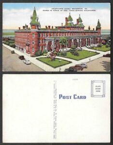 Old-Georgia-Postcard-Brunswick-General-Oglethorpe-Hotel