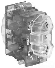 600VAC 10 AMP 250VDC 5 AMP 30MM 10250T51C 1NC PRESSURE TERMINAL CONTACT BLOCK