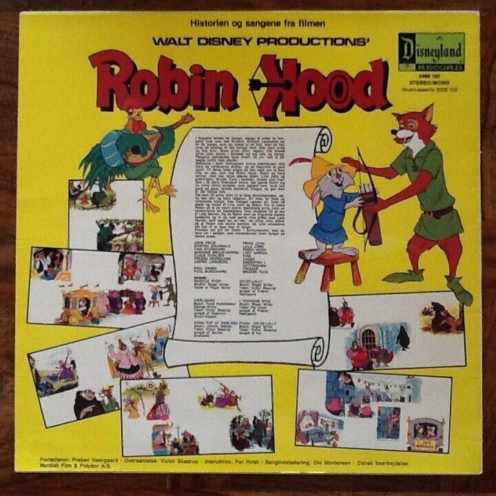LP, SOLGT!! Walt Disney, Soundtrack Robin Hood