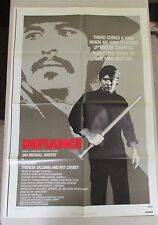 Vintage 1 sheet 27x41 Movie Poster DEFIANCE 1979 Jan-Michael Vincent