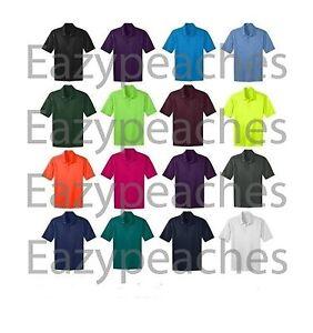 Port-Authority-Mens-Big-amp-Tall-Silk-Touch-Dri-Fit-Polo-Shirt-NEW-LT-4XLT-TLK540