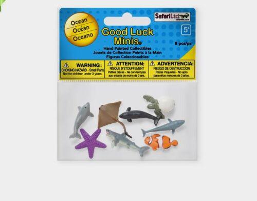 Safari GOOD LUCK MINIS-OCEAN #346422~new for 2013  FREE SHIP//USAw// $25