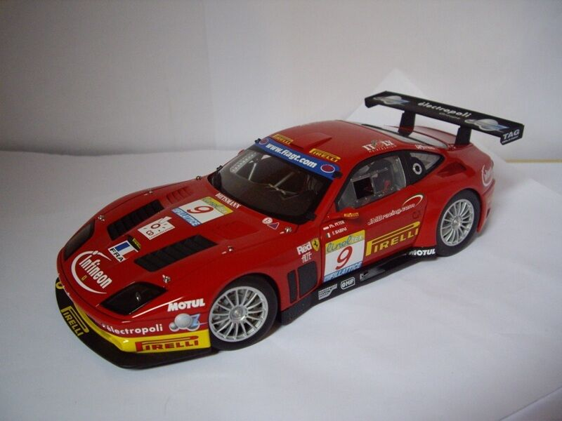 KYOSHO 1 18 CAR DIE CAST FERRARI 575 GTC TEAM JMB ESTORIL 2003 art. 08393B