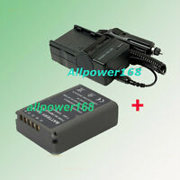 Battery + fast Charger For BLN-1 BLN1 Olympus OM-D OMD E-M5 EM5 Camcorder Series