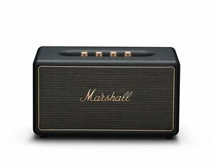 Marshall-Stanmore-Black-Multi-Room-WiFi-Bluetooth-Lautsprecher-WLAN-Speaker-Box