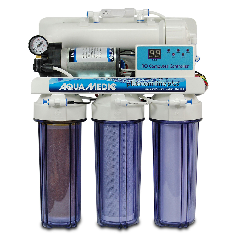 Aqua Medic platinum platinum platinum line plus 400l Tag für Meer- und Süßwasseraquarien osmose 8b438c