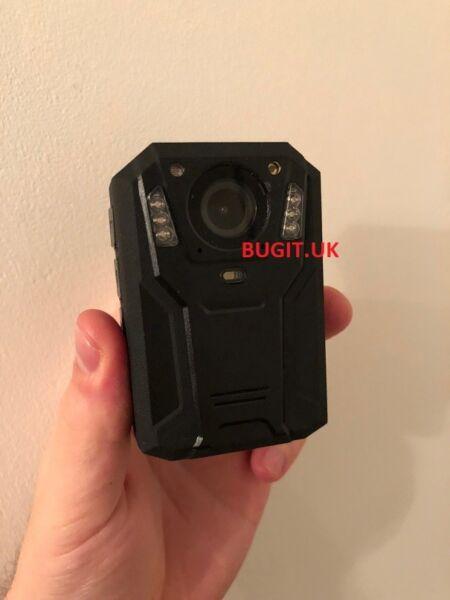 1080p Hd Mini Police Corps Caméra Vidéo Dvr Ir Nuit Cam 8 Heures De Mouvement Caméscope Par Processus Scientifique