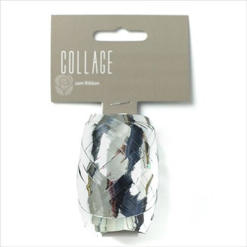 Papier Cadeau Ruban individuel 10 m Roll Argent emballage ruban collage Cadeau Dressin