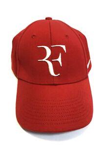 Nike ROGER FEDERER Foundation Hat Cap Legacy 91 Red /& White