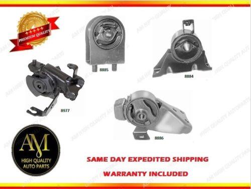 Engine /& Trans Mount Set 4PCS for Mazda Protege 99-01 L4 1.6L w// Manual Trans.