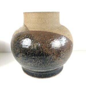 Mid Century Vintage California Studio Ceramic Pottery Vase Art Signed Pat Husted