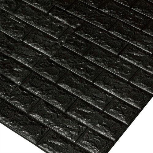 1//10//20x 3D Tile Brick Wall Sticker Self-adhesive Waterproof Panel Sticker LOCA