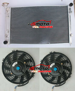 3-ROW-Aluminum-Radiator-2-Fans-for-Holden-Commodore-VY-3-8L-V6-2002-2004-03-AT