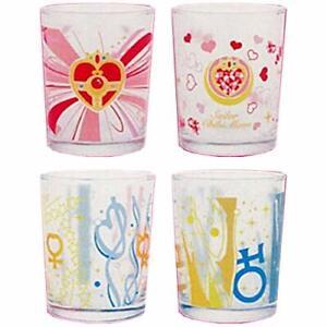 Sailor-MOON-Maiden-Makeover-COLLEZIONE-GLASS-4-Set-della-Lotteria-Ichiban-Kuji-D-SEMPLIC