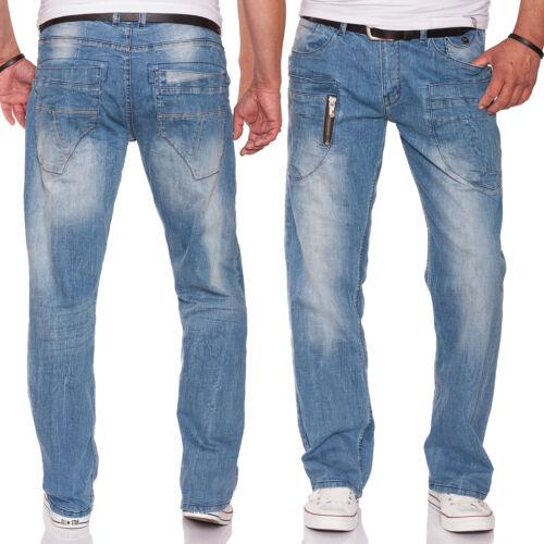 M.O.D Hommes Jeans Danny New Comfort à Manaos Blue