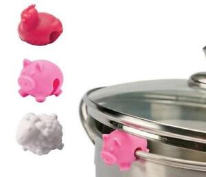 NEW-Tovolo-Farm-Animal-Lid-Lifters-Set-of-3-Multi-Color
