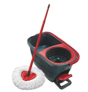 Details About Vileda Easy Wring And Clean Turbo Mop And Bucket Set Microfibre Quick Pedal Dry