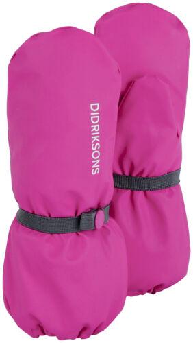 Didriksons Handschuh  Pileglove Kid/'s 3 pink winddicht wasserdicht Unifarben