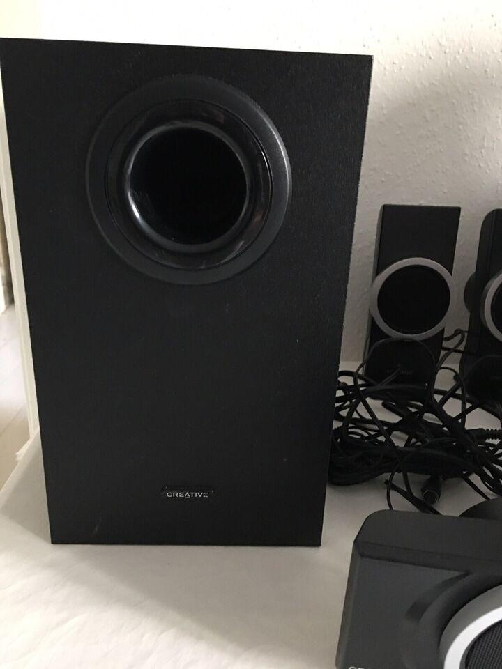 Anden højttaler, Creative, Inspireret T6100