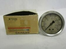 New Old Stock Weiss Lf25s 1 Liquid Filled Pressure Gauge 0 400 Psi Back Conn