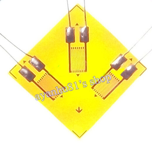 2pcs 120 ohm Multi-axial Residual Stress Strain Gauge for Analog Pressure Sensor