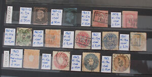 GERMANY-PREUSSEN-SACHSEN-13-stamps-3-scans-Lot-4009