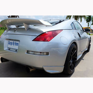 for 03 2008 nissan 350z coupe convertible amuse rear wing. Black Bedroom Furniture Sets. Home Design Ideas