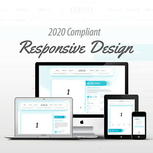 2020 Compliant Mobile Responsive Ebay Auction Listing Template Liquid Design 01 Ebay