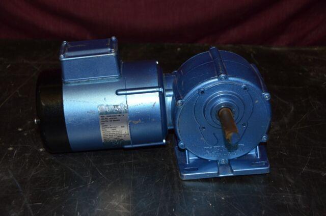 Parvalux Gearbox 12WS3D2U1YB7TX DC Shunt 200/220V 68/56:1 Ratio 3000 RPM  Motor
