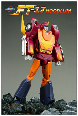 Transformers Iron FansToy FT-17 Hoodlum G1 Hot Rod Action Figure