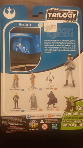 Trilogie Star Wars Collection Han Solo #35 Proof Carte