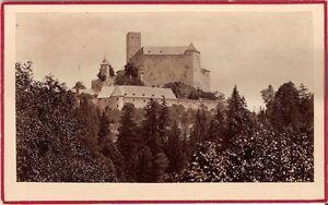 CDV-photo-Historische-Ansicht-Schloss-in-Osterreich-1880er