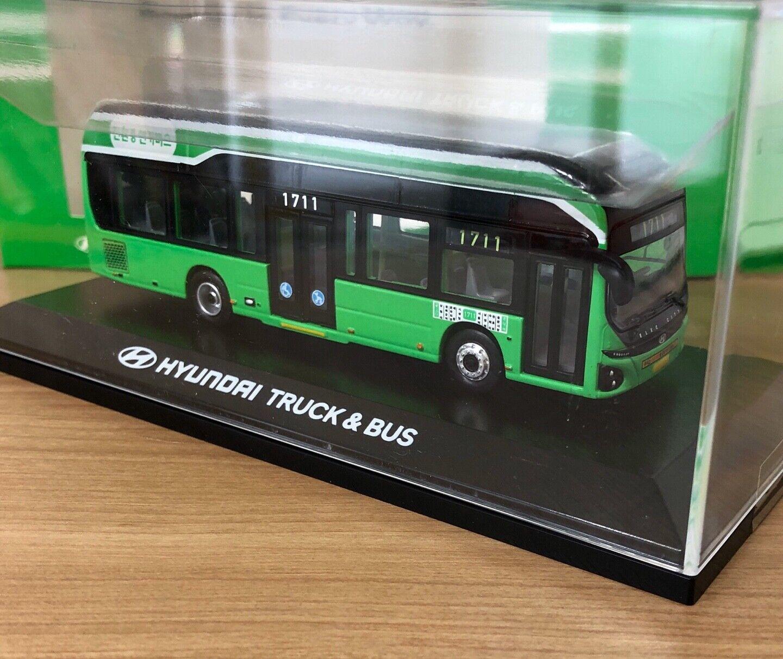 1 87 HYUNDAI ELEC CITY korea seoul diecast electric bus 1 87 scale