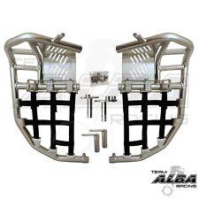 Yamaha Raptor 250 125  Nerf Bars  Pro Peg  Heel Gaurd  Alba Racing     192 T7 BL