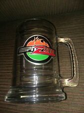Disney World ESPN Zone Glass Beer Mug 2001 Pewter Glass
