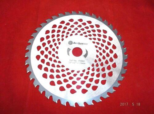 Kreissägeblatt Hartmetall für Motorsense Freischneider 25,4 //20 mm 40 Zähne