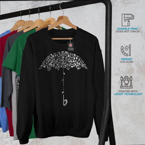 Umbrella Note Music Music Women Sweatshirt NEWWellcoda
