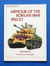 Militaria Carri Armati Tank Armour of the Korean War - Osprey-Vanguard 27 - 1982