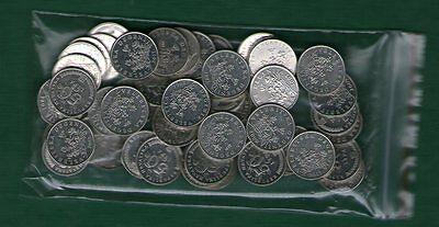 50  coins MIX YEAR CROATIA HRVATSKA LOT 50 LIPE  LIPA