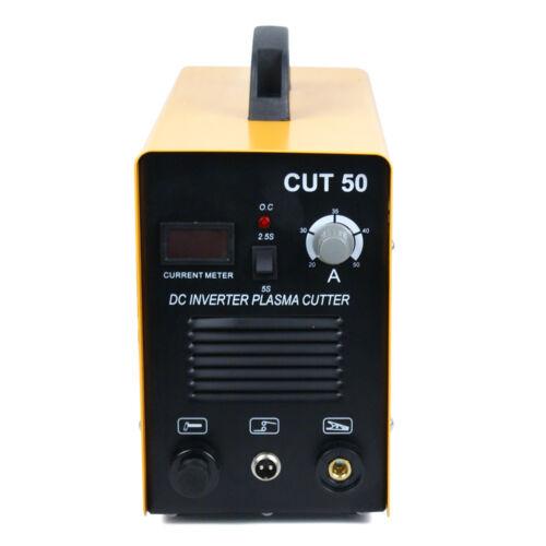 CUT50 Digital Inverter Machine Air Plasma Cutter W//Chipping Hammer// Wire Brush